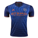 New York City FC 2016 Authentic Away Soccer Jersey
