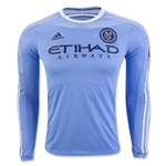 New York City FC 2016 LS Authentic Home Soccer Jersey
