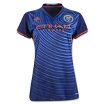 New York City FC 2016 Womens Away Soccer Jersey