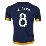 LA Galaxy 2016 GERRARD Youth Away Soccer Jersey