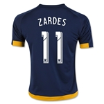 LA Galaxy 2016 ZARDES Youth Away Soccer Jersey