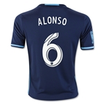 Seattle Sounders 2016 ALONSO Youth Third Soccer Jersey