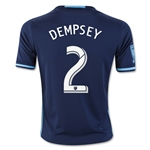 Seattle Sounders 2016 DEMPSEY Youth Third Soccer Jersey