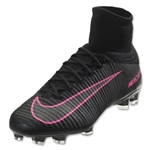Nike Mercurial Superfly V FG (Black/Total Crimson)