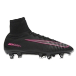 Nike Mercurial Superfly V SG Pro (Black/Total Crimson)