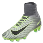 Nike Mercurial Superfly V FG Junior (Pure Platinum/Black)