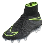 Nike Hypervenom Phantom II FG Junior (Black/Volt)