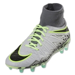 Nike Mercurial Hypervenom Phantom II FG Junior (Pure Platinum/Black)