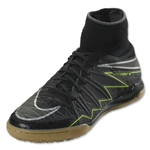 Nike Junior Hypervenom X Proximo IC (Black/Volt)