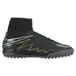 Nike Junior Hypervenom Proximo TF (Black/Volt)