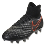 Nike Magista Obra II FG (Black/Total Crimson)
