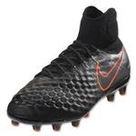 Nike Magista Obra II AG Pro (Black/Total Crimson)