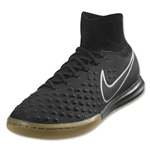 Nike Junior MagistaX Proximo II IC (Black/Volt)