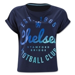 Chelsea Womens Graphic Crop T-Shirt