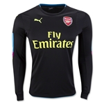 Arsenal 16/17 LS Goalkeeper Jersey (Black)