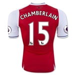 Arsenal 16/17 15 CHAMBERLAIN Authentic Home Soccer Jersey