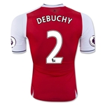Arsenal 16/17  2 DEBUCHY Authentic Home Soccer Jersey