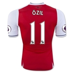 Arsenal 16/17 11 OZIL Authentic Home Soccer Jersey