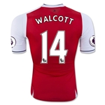Arsenal 16/17 14 WALCOTT Authentic Home Soccer Jersey