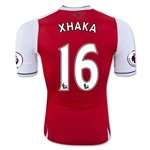 Arsenal 16/17 16 XHAKA Authentic Home Soccer Jersey