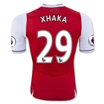 Arsenal 16/17 29 XHAKA Authentic Home Soccer Jersey