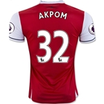 Arsenal 16/17 32 AKPOM Home Soccer Jersey