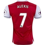 Arsenal 16/17  7 ALEXIS Home Soccer Jersey
