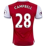 Arsenal 16/17 CAMPBELL Home Soccer Jersey