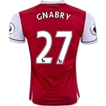 Arsenal 16/17 27 GNABRY Home Soccer Jersey