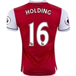 Arsenal 16/17 16 HOLDING Home Soccer Jersey
