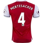 Arsenal 16/17  4 MERTESACKER Home Soccer Jersey