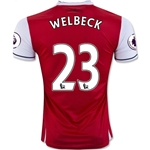 Arsenal 16/17 23 WELBECK Home Soccer Jersey