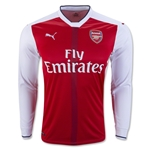 Arsenal 16/17 LS Home Soccer Jersey