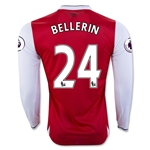 Arsenal 16/17 24 BELLERIN LS Home Soccer Jersey