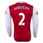 Arsenal 16/17  2 DEBUCHY LS Home Soccer Jersey