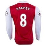 Arsenal 16/17 8 RAMSEY LS Home Soccer Jersey