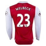 Arsenal 16/17 23 WELBECK LS Home Soccer Jersey