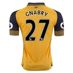 Arsenal 16/17 27 GNABRY Away Soccer Jersey