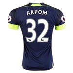 Arsenal 16/17 32 AKPOM Third Soccer Jersey