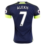 Arsenal 16/17  7 ALEXIS Third Soccer Jersey