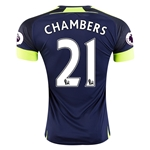 Arsenal 16/17 21 CHAMBERS Third Soccer Jersey