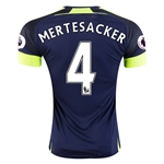 Arsenal 16/17  4 MERTESACKER Third Soccer Jersey