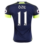 Arsenal 16/17 11 OZIL Third Soccer Jersey