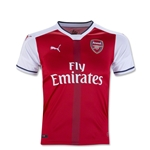 Arsenal 16/17 Youth Home Soccer Jersey