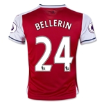 Arsenal 16/17 24 BELLERIN Youth Home Soccer Jersey