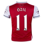Arsenal 16/17 11 OZIL Youth Home Soccer Jersey