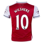 Arsenal 16/17 10 WILSHERE Youth Home Soccer Jersey