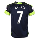 Arsenal 16/17  7 ALEXIS Youth Third Soccer Jersey