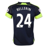 Arsenal 16/17 24 BELLERIN Youth Third Soccer Jersey
