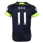 Arsenal 16/17 11 OZIL Youth Third Soccer Jersey